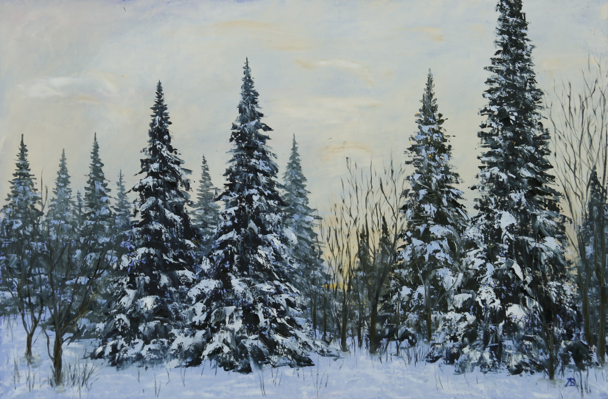 Valery Levchenko. No. 10 Winter Twilight