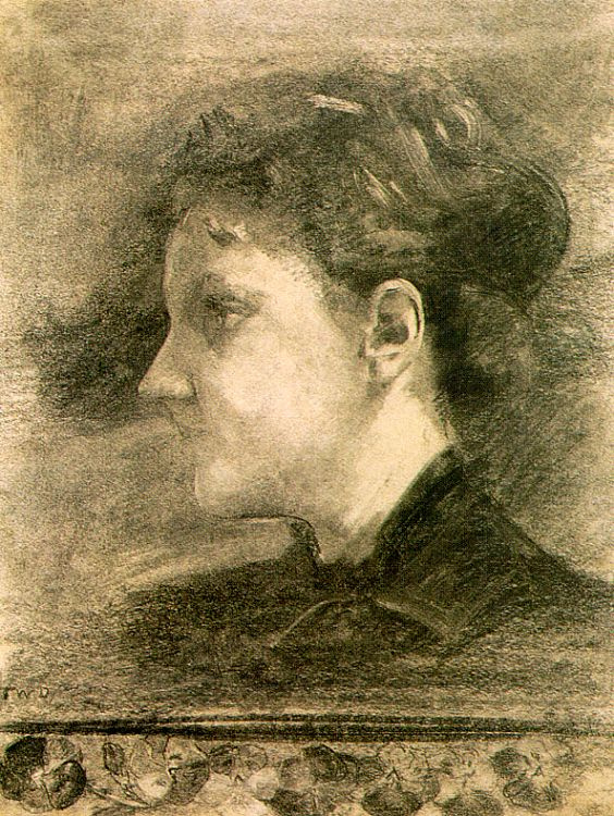 Thomas Wilmer Dewing. Profile women