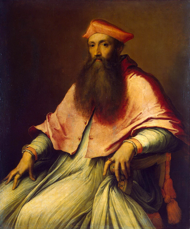 Себастьяно Лучиани. Портрет кардинала Реджинальда Поля