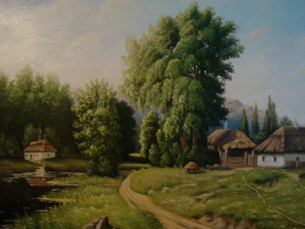 Alexander Vladimirovich Alymov. RURAL NOON