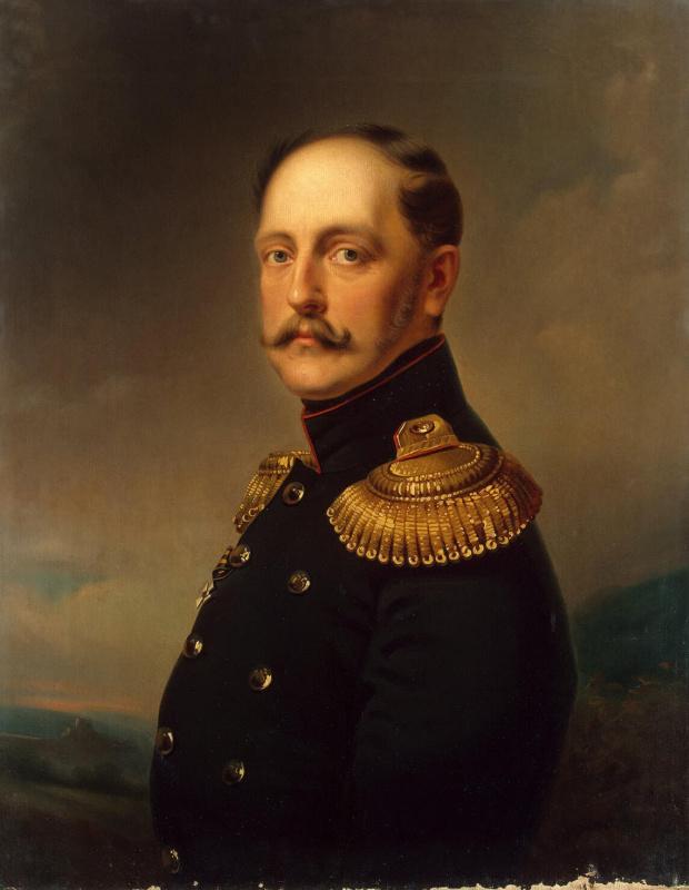 Эмиль-Жан-Орас Верне. Портрет императора Николая I