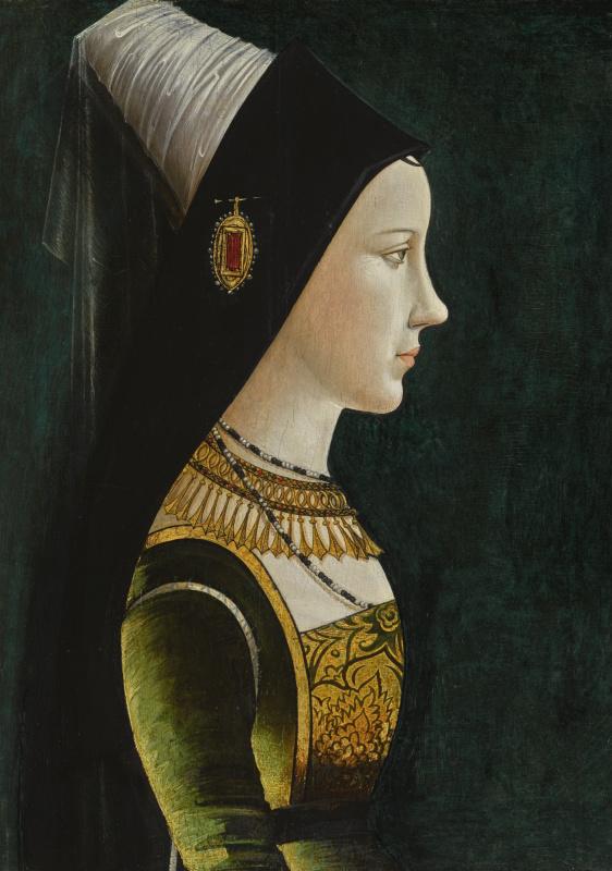 Неизвестный  художник. Портрет Марии Бургундской