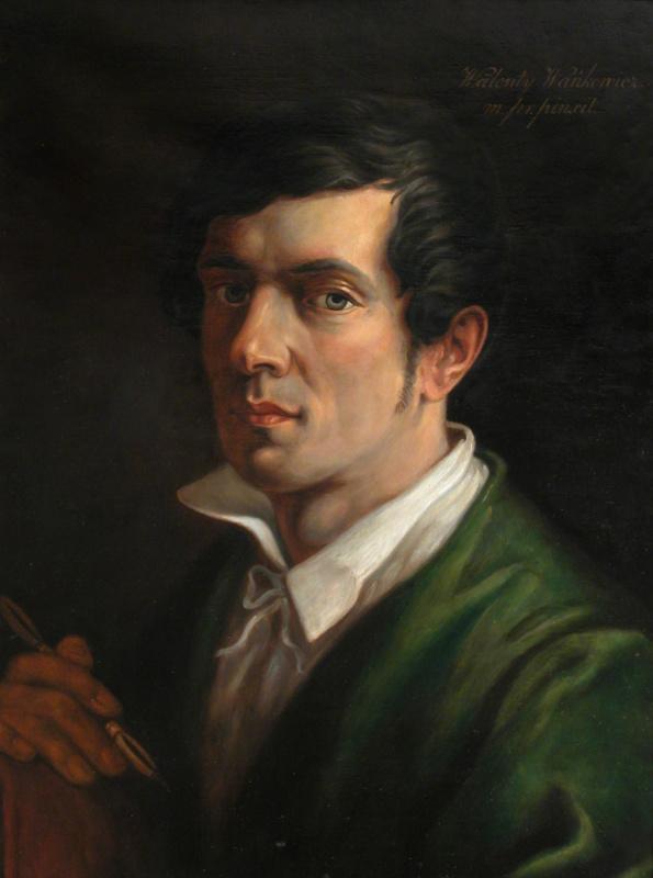 Valentine Mel'chiorovich Vankovich. Self portrait 1840