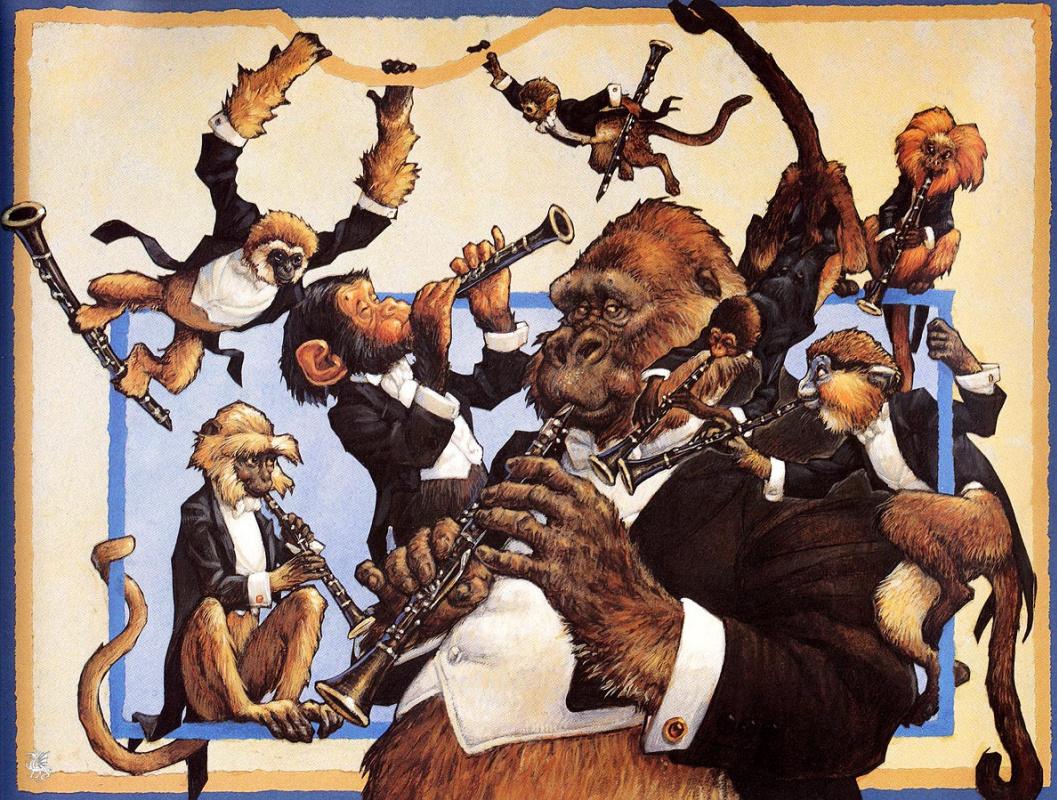 Скотт Густафсон. Животный оркестр. Кларнета