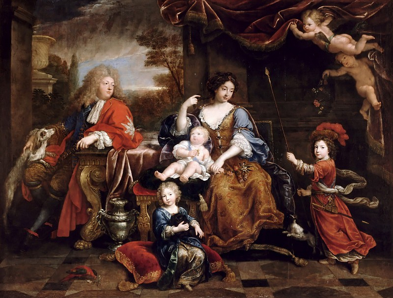 Pierre Minyar. The family of the Grand Dauphin