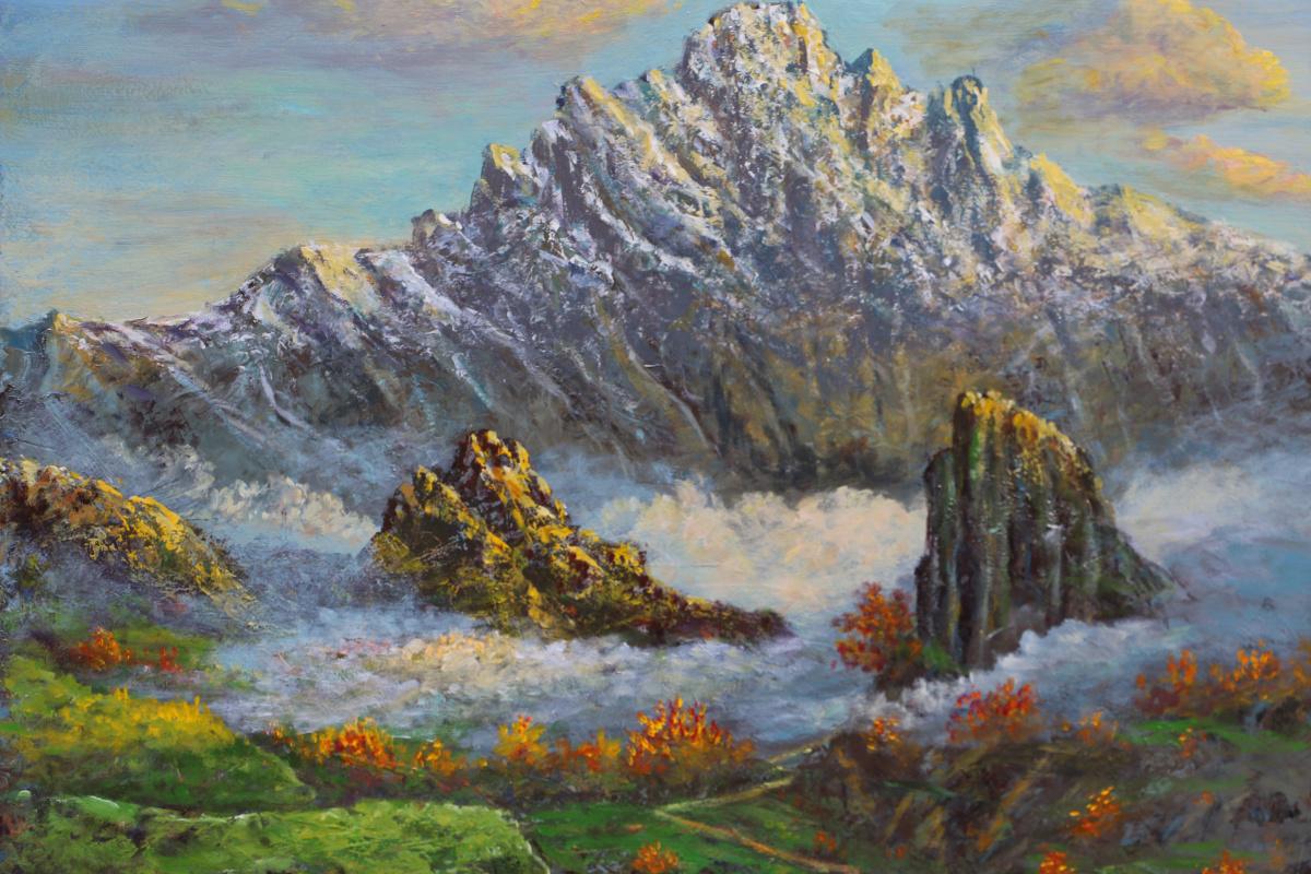 Najaf Mamedali oglu Mamedov. MOUNTAIN PESHTASAR