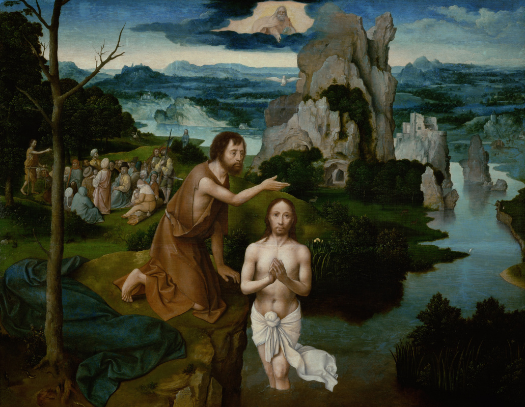 Joachim Patinir. The Baptism Of Christ