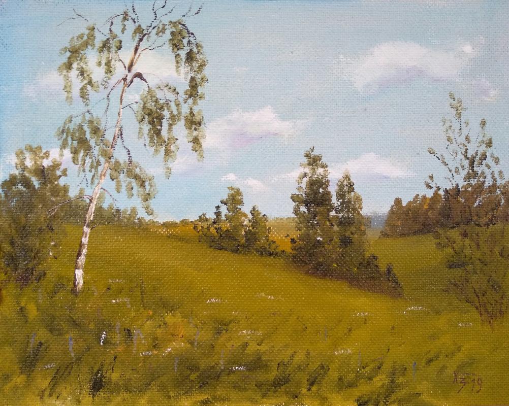 Сергей Николаевич Ходоренко-Затонский. The hills