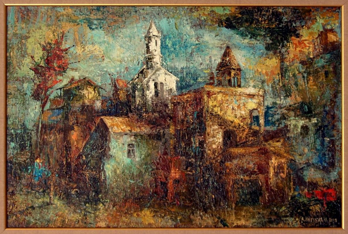 Автандил Невроевич Накашидзе (Кутубидзе). Landscape-1