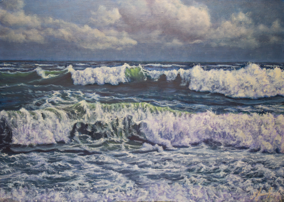 Valery Levchenko. No. 475 Seascape.