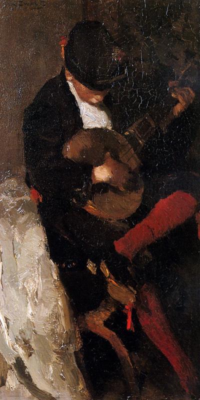 Виллем де Зварт. Музыкант