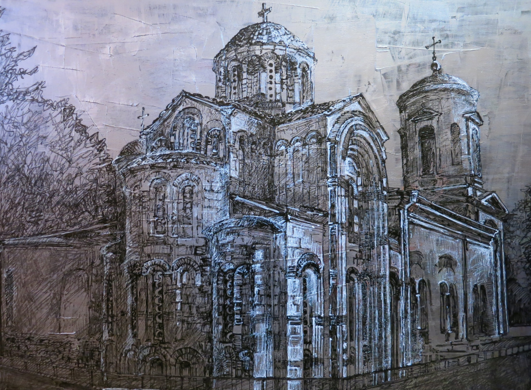 Lyubava Nikolaevna Taraday. Church of St. John the Baptist.