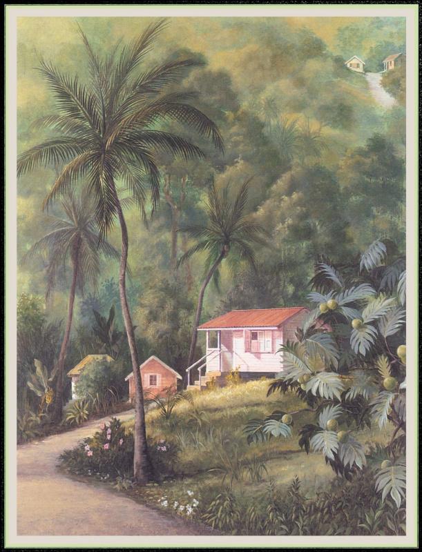 Уильям Вуд. Дом на холме