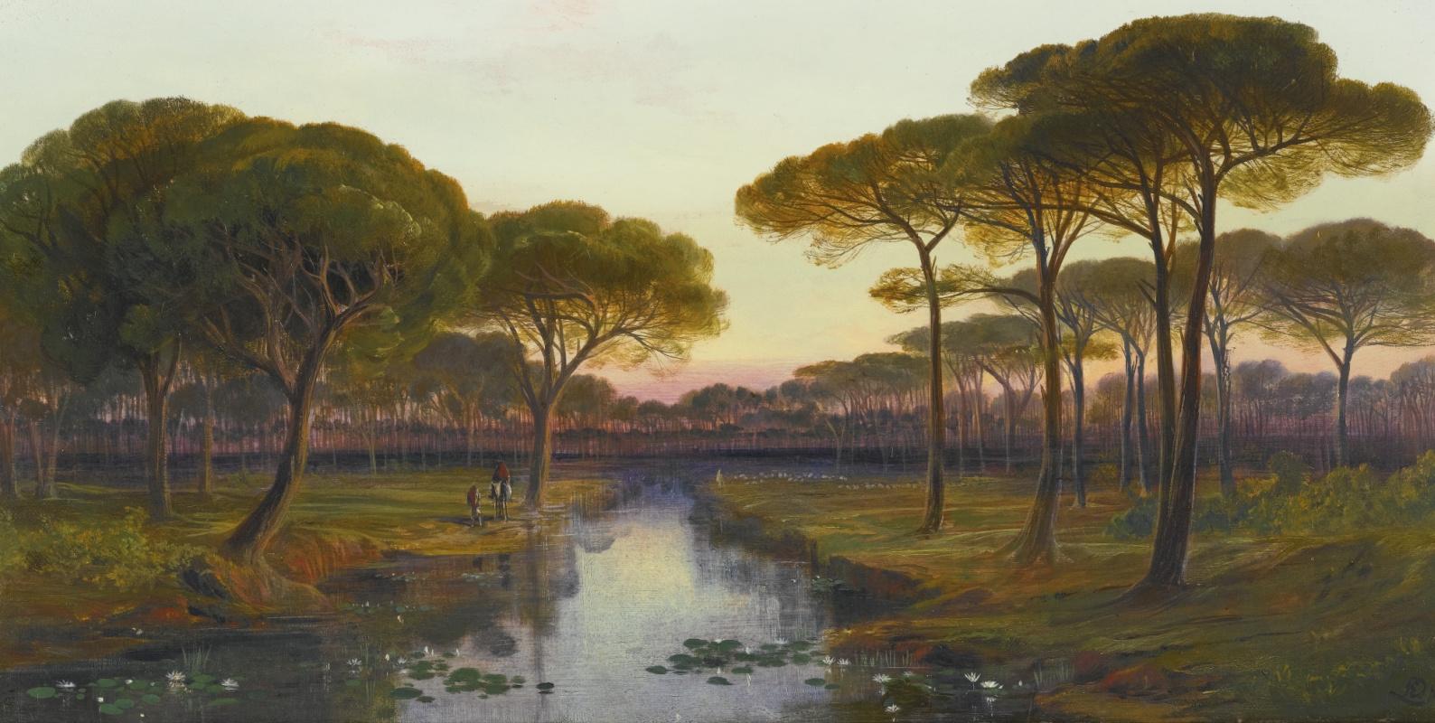 Эдвард Лир. Pineta, Ravenna