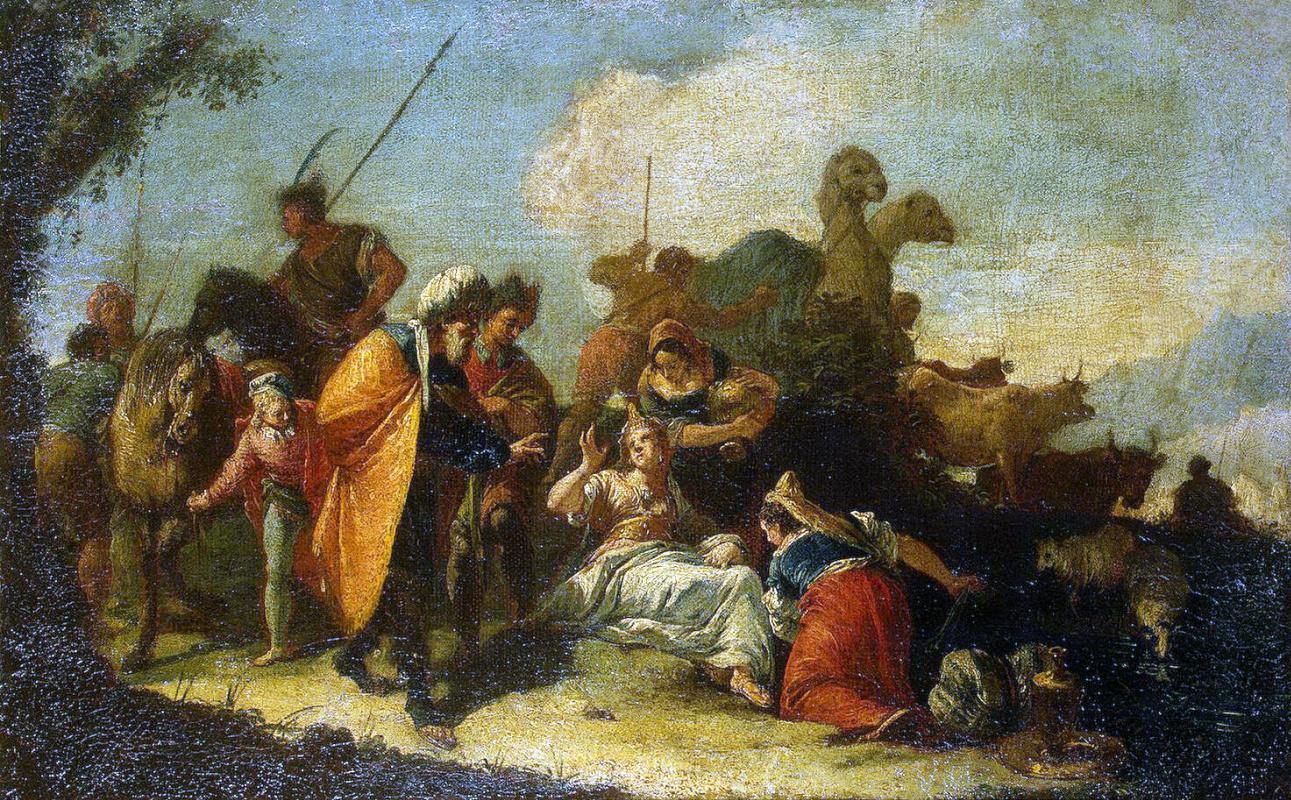 Франческо Фонтебассо. Рахиль прячет идолов