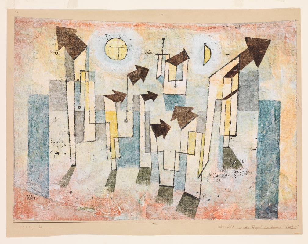 Пауль Клее. Фреска из храма