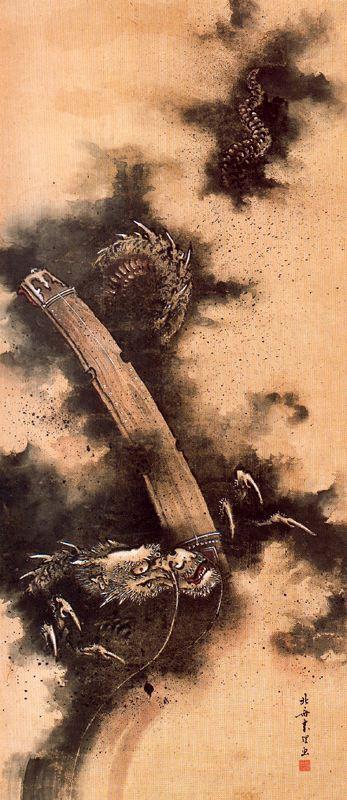 Katsushika Hokusai. Mystical spirit