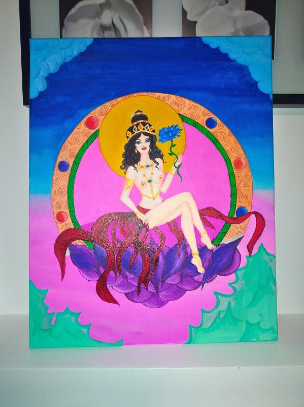 Guzel Demir. Goddess