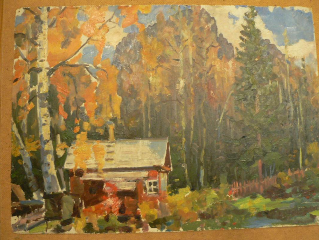 Karl Fritsevich Valdman. Painting