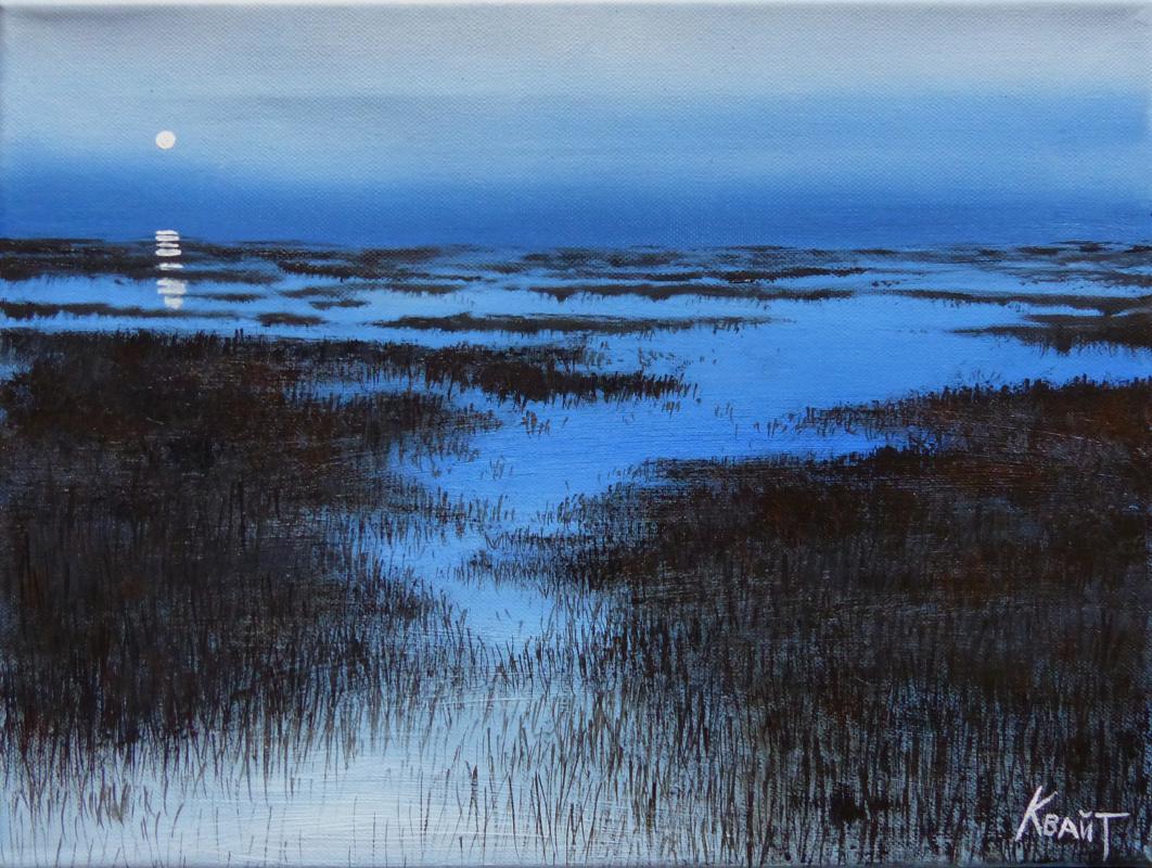 Julia Konstantinovna Quayt. Morning in the swamp