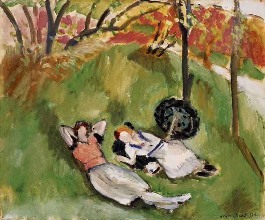 Анри Матисс. Две лежащие женщины