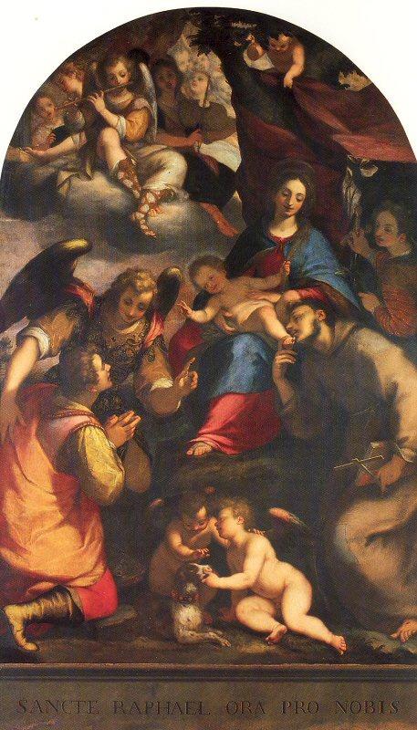 Джованни Баттиста Пагги. Святое семейство