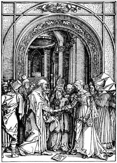 Альбрехт Дюрер. Обручение Марии