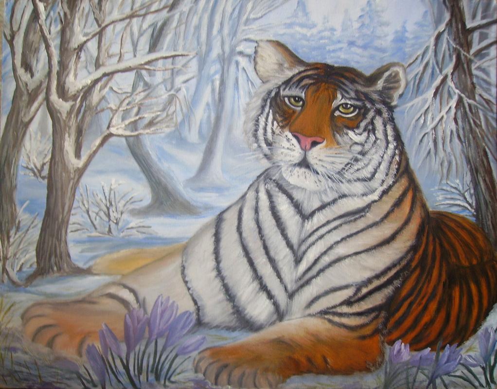 Marianna Hamzyaevna Malysheva. Winter the owner of the forest