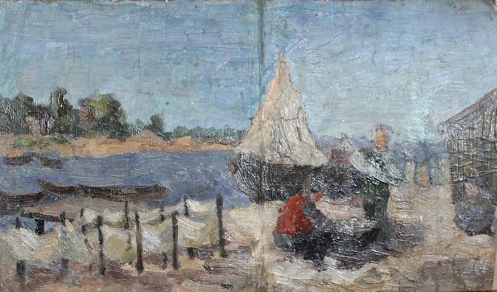 Petr Filippovich Alberti. Fishermen