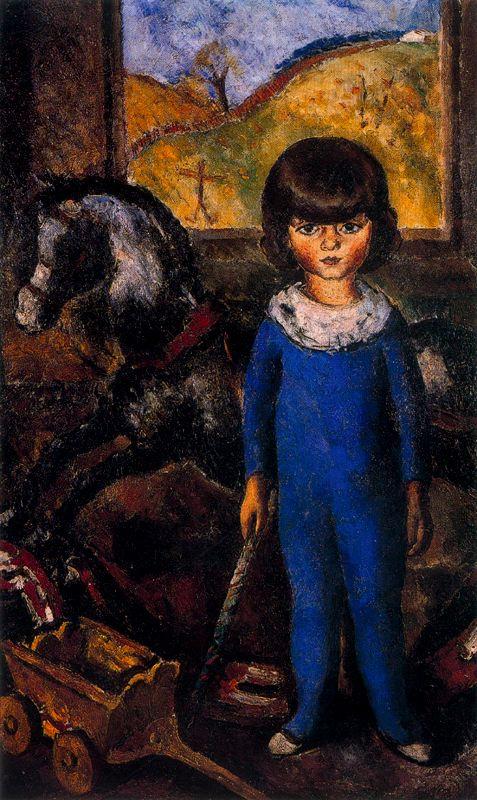 Артуро Соуто. Ребенок и игрушечная лошадь