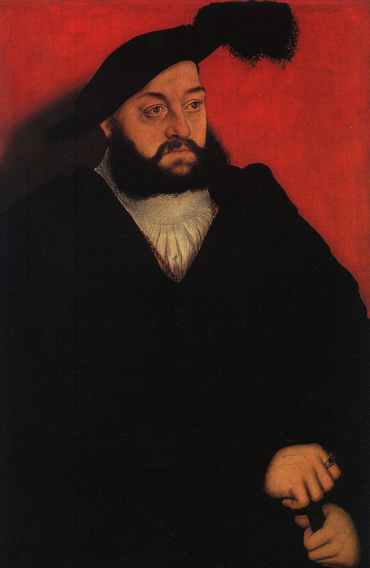 Лукас Кранах Старший. Иоганн, герцог Саксонский