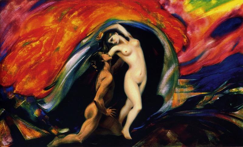 Svyatoslav Nikolaevich Roerich. Lovers