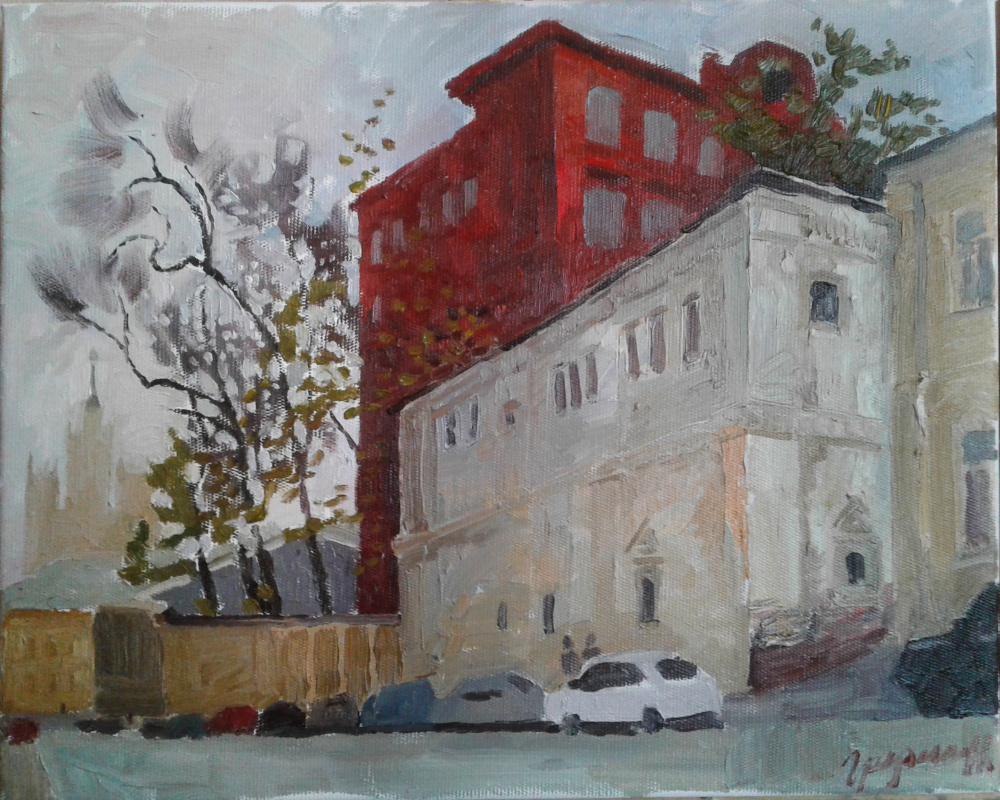Степан Грудинин. Красный дом