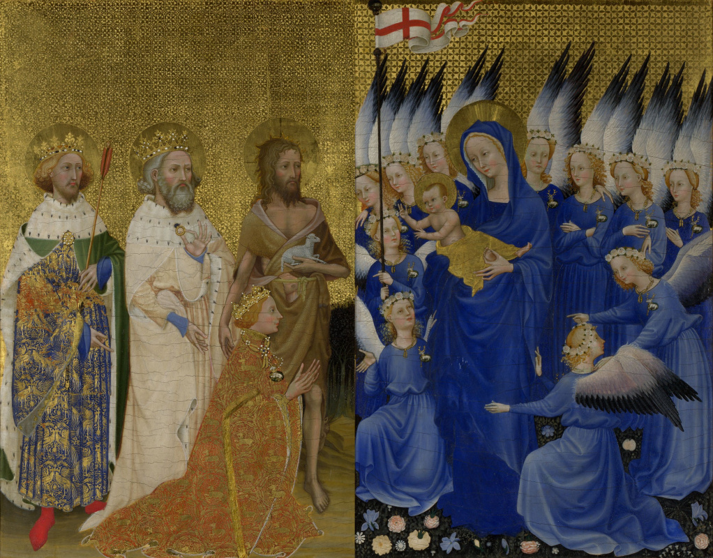 Masterpieces of unknown artists. Wilensky diptych