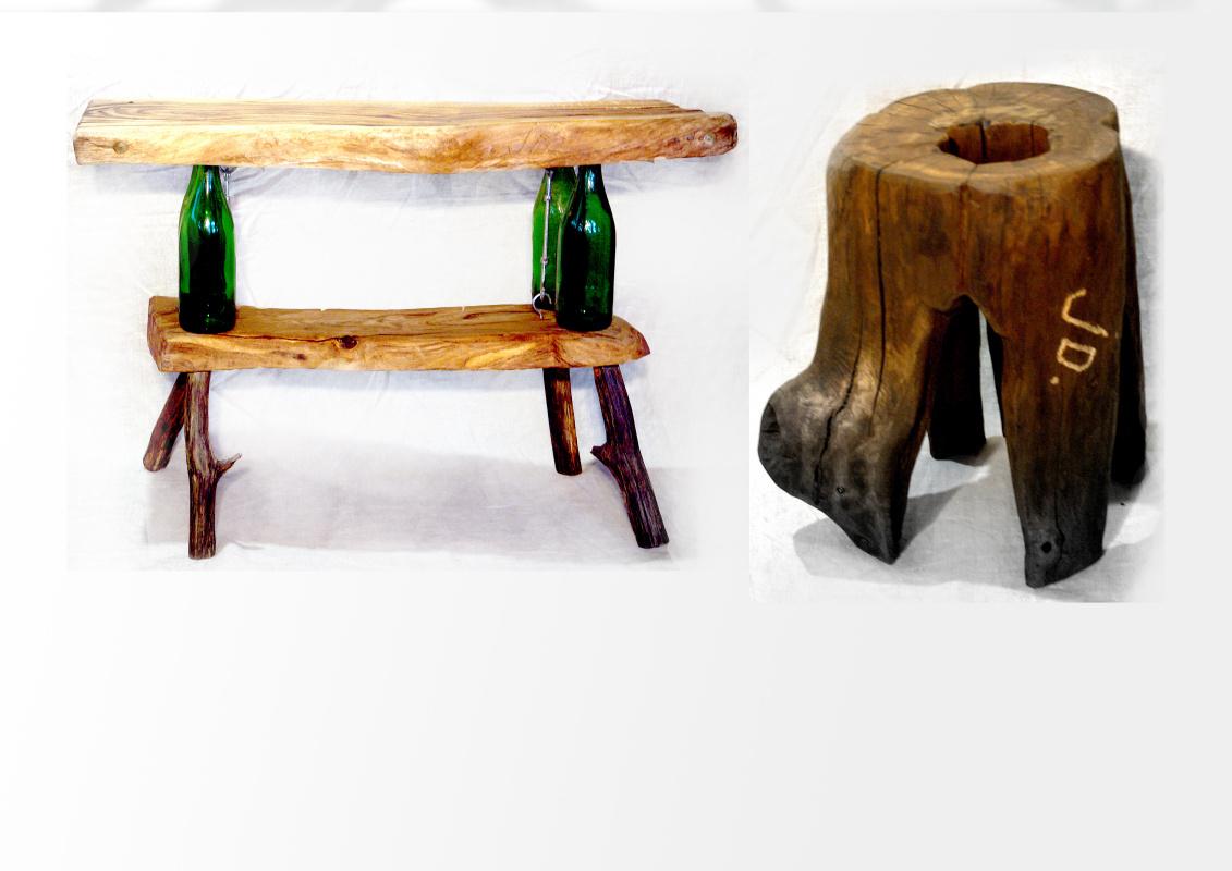 Nikolay Igorevich Drozhdin. Eco furniture