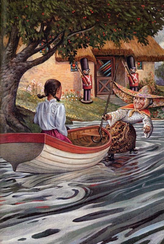 Ричард Хесс. В  лодке