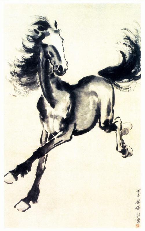 Беихонг Сюй. Лошадь 9