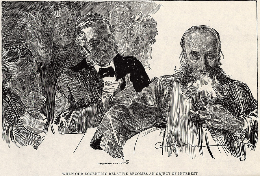 Charles Dana Gibson. Our eccentricity relative