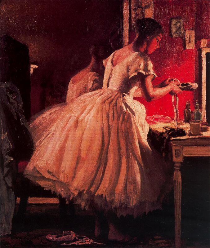 Лора Найт. Девушка в розовом платье