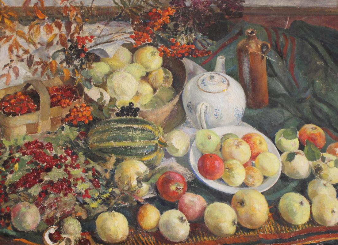 Vasily Fadeevich Demin. Fruits of the Black Earth Region