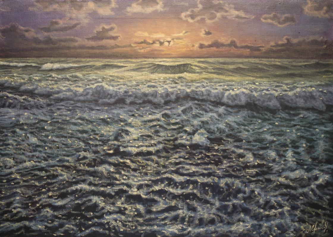 Valery Levchenko. No. 456 The Last Rays of the Day
