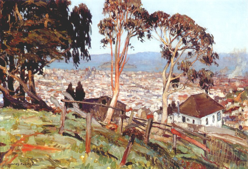 J Pages. The view from twin Peaks of the island Yerba Buena