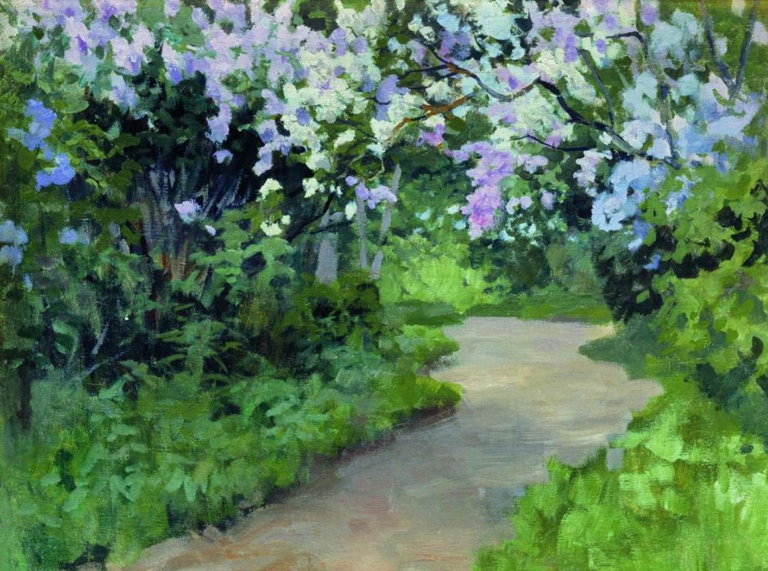Alexey Stepanovich Stepanov. Lilac alley