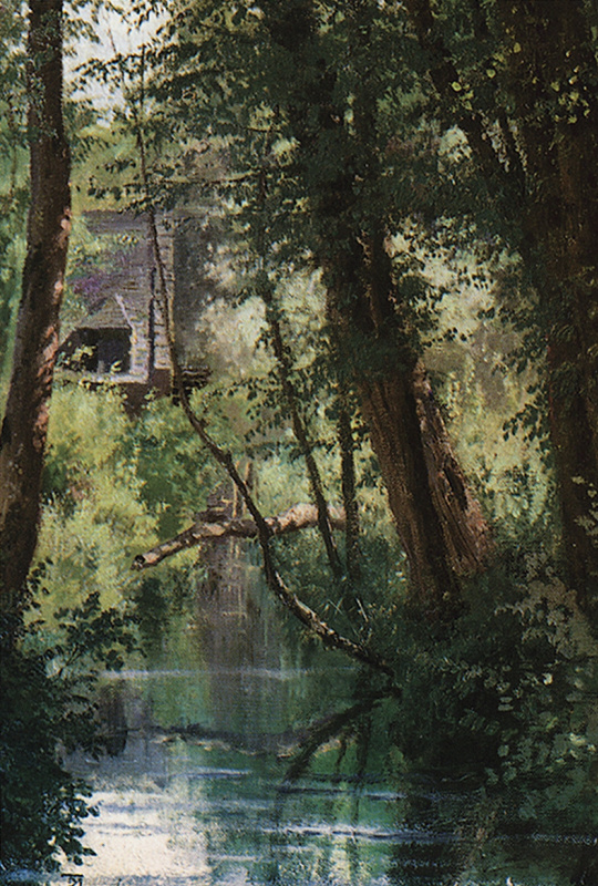 Vasily Polenov. Pond in Vela