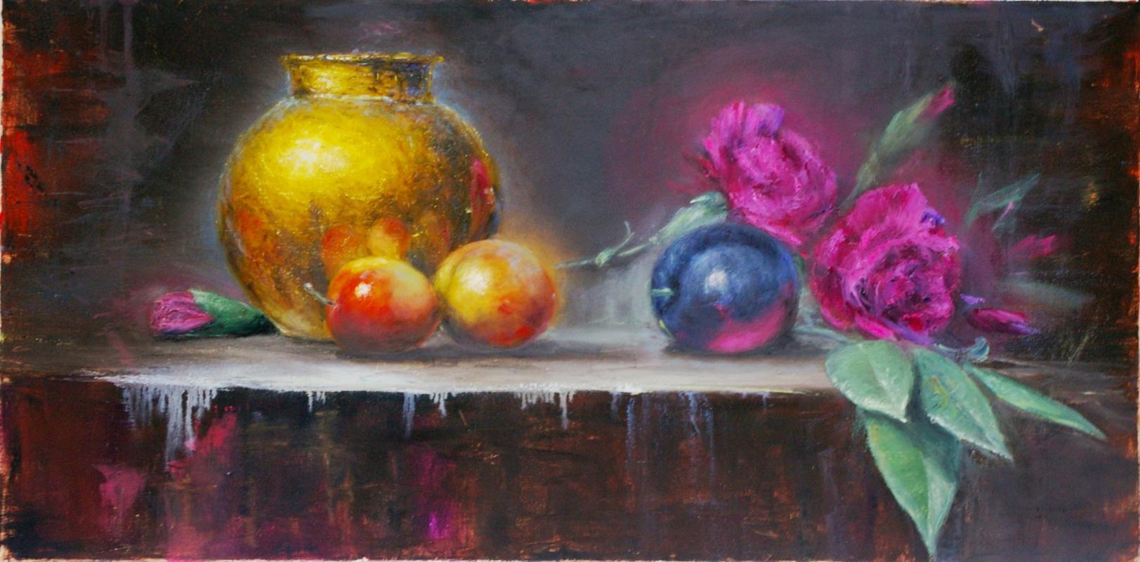 Natalia Bagatskaya. Still Life with Carnation