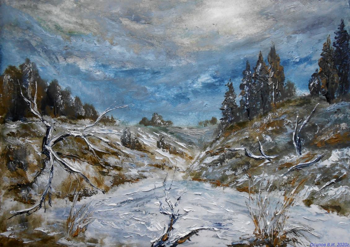 Владимир Иванович Осипов. Winter nocturne