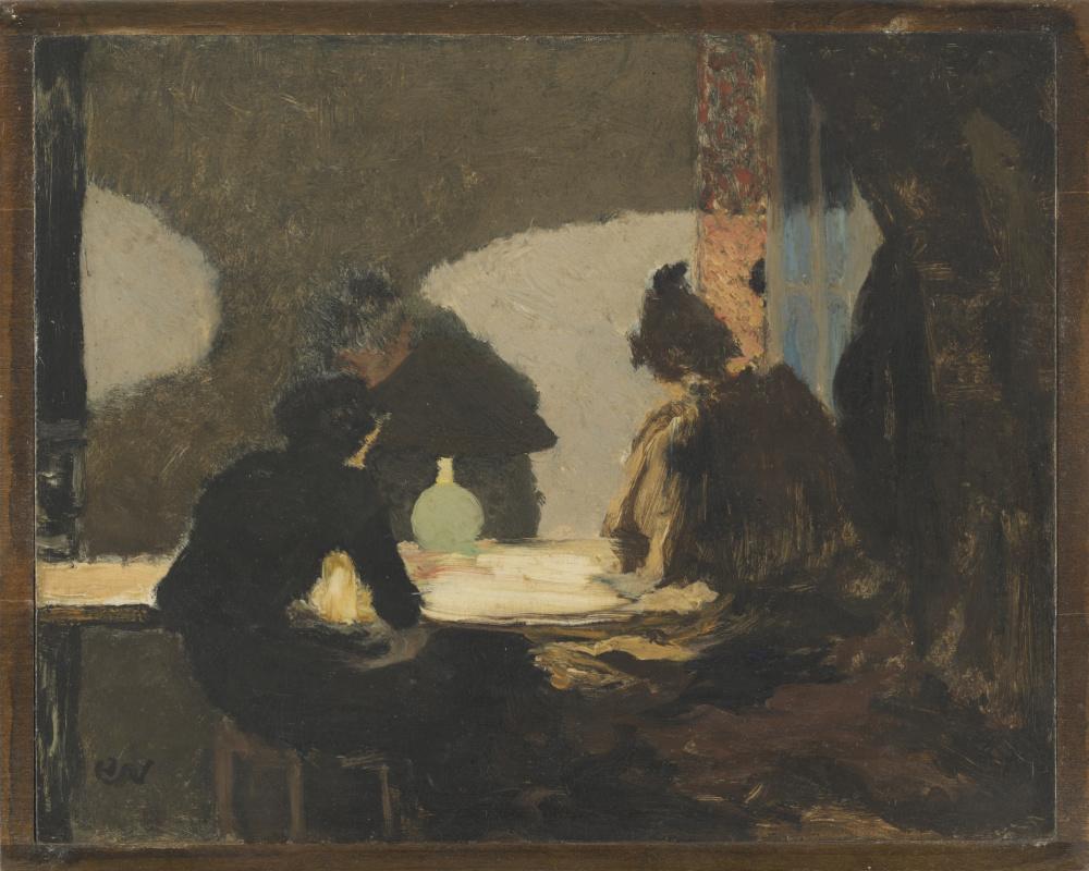 Jean Edouard Vuillard. Green light