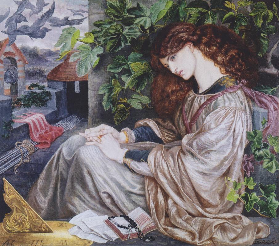 Dante Gabriel Rossetti. Pia de Tolomei (Pia de Tolomei)