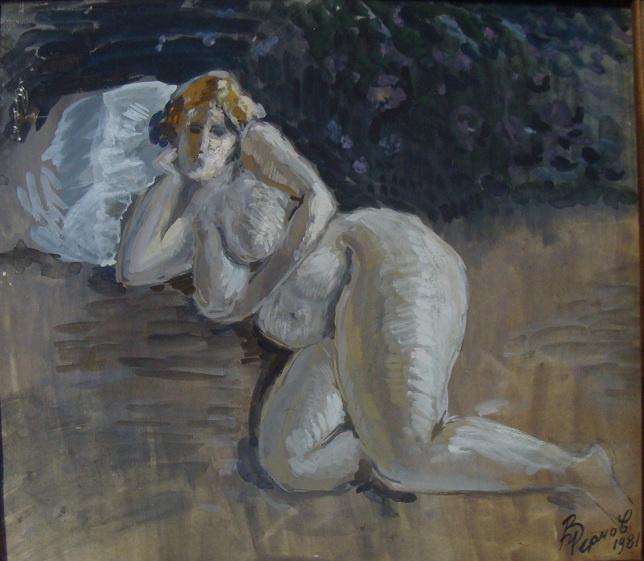 Vladimir Petrovich Chernov. Resting