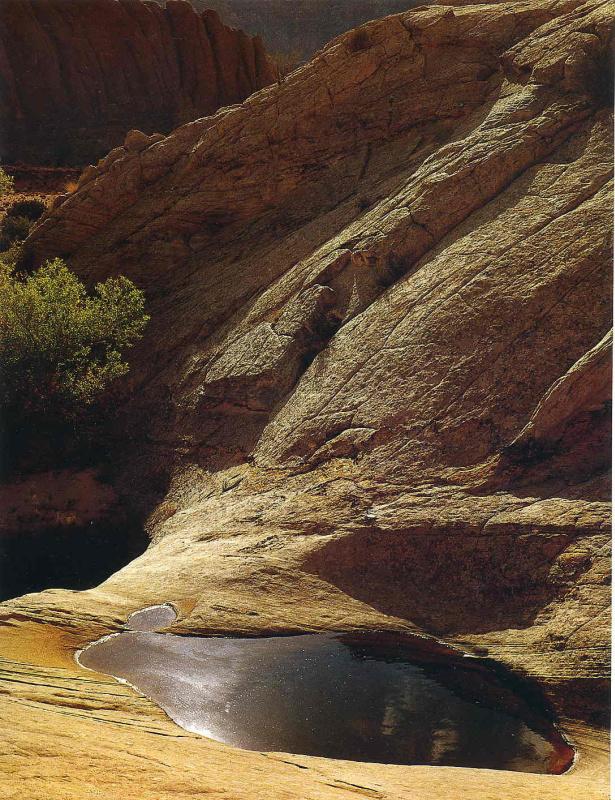 Элиот Портер. Скалистый пейзаж 2